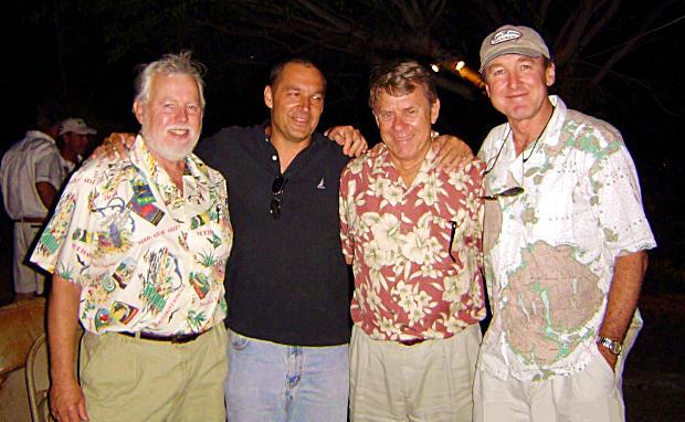 John Whiticar, Mark Willis, Roy Merritt and Mike Rybovich