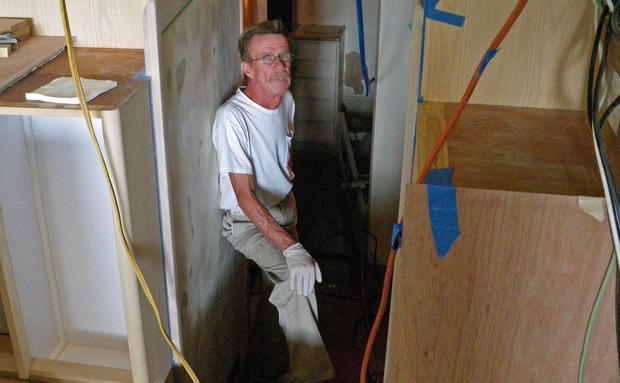 Painter Tom Barnaby