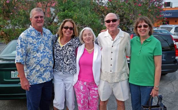 Danny, Lorie, Julia, Mike and Karen at Mondo's