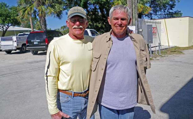 Steve and Mark Futch