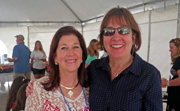 Terri Shikany and Karen Evans