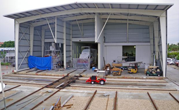 Renovations to the New Boatyard